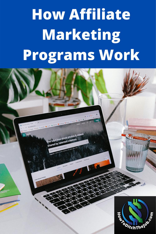 How Affiliate Marketing Programs Work