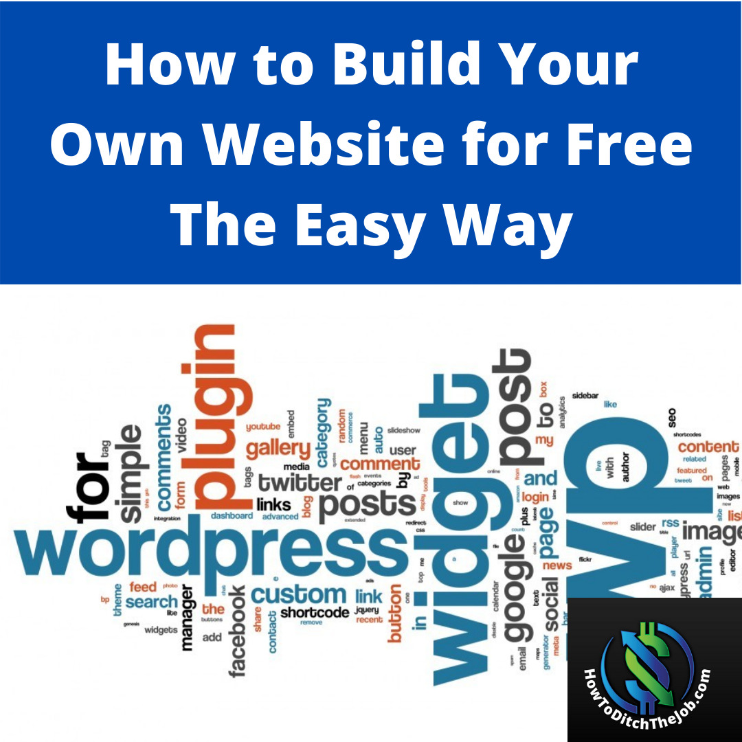 How to build your own website