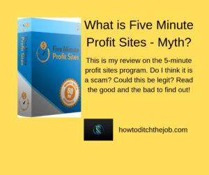 What is Five Minute Profit Sites