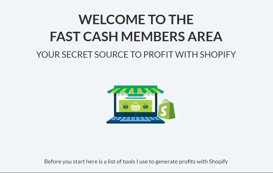 fast cash shopify