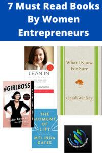 Inspiring Women Entrepreneur books